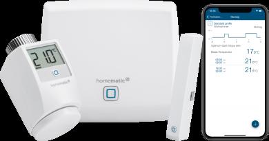 Produkt des Monats: Homematic IP Starter Set Raumklima – Einstiegspaket zur Heizungssteuerung