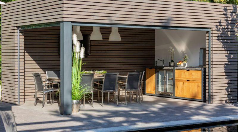 Trends 2021 - Remise für Outdoor-Küche - Foto: Westerhoff