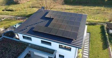 Photovoltaikanlagen bringen auch auf Norddächern einen hohen Ertrag
