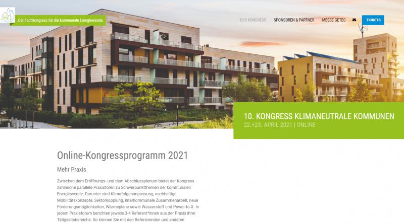 Online-Event zum Beschleunigen der kommunalen Energiewende
