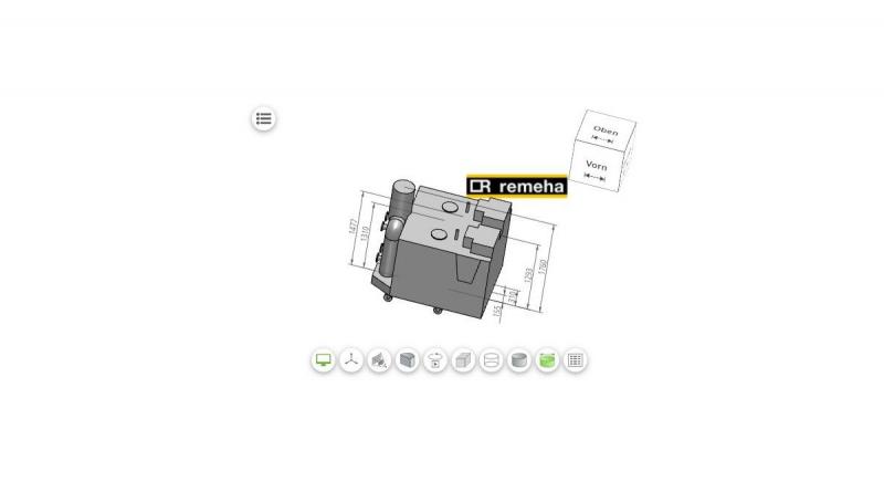 CAD- und BIM-Modelle von Remeha zum Herunterladen verfügbar