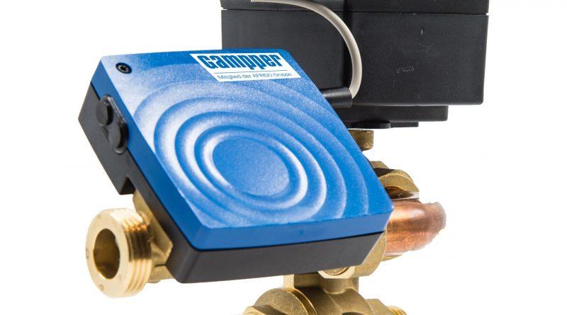 Bluetooth-App für elektronischen Kugelhahn für Kühl- und Heizdecken