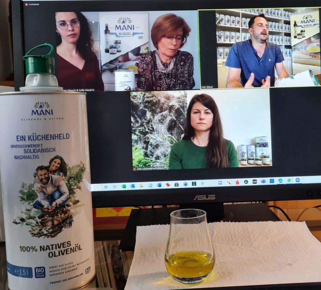 Solidarisches Olivenöl zum Kochen – Der Küchenheld von Mani Bläuel