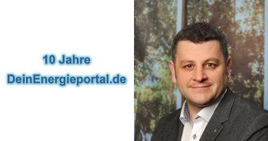 Wolfgang Herold von ait Deutschland gratuliert DeinEnergieportal zum 10jährigen Geburtstag.