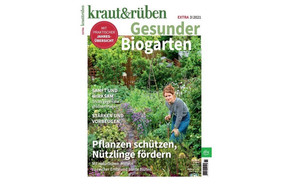 """Sonderheft kraut&rüben Extra """"Gesunder Biogarten"""" vom dlv Deutscher Landwirtschaftsverlag"""