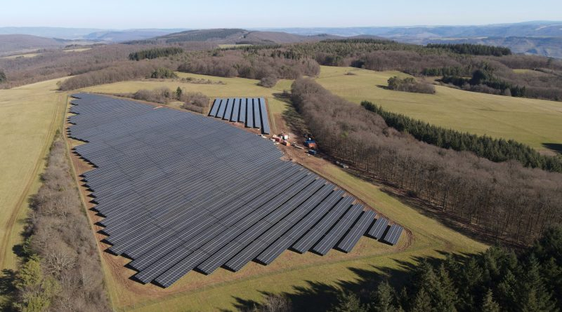 Neuer Solarpark in Klüsserath-Kobenlay
