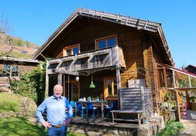 Hans-Josef Fell, Politiker der Grünen, ist zu 100 Prozent autark