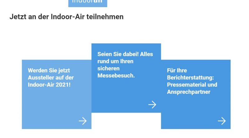 Fachmesse für Luftqualität und Lüftung: Indoor-Air in Frankfurt/Main