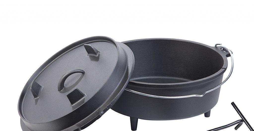 Kochen, braten und backen Sie mobil und flexibel auf Feuerstellen u.v.m. - Foto: Dutch Oven