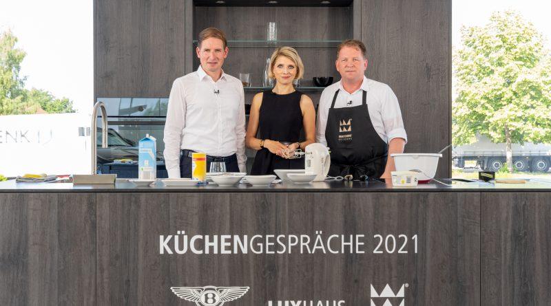 Neue Video-Reihe von Bentley, Luxhaus und Warendorf zu Lebensart und Kulinarik